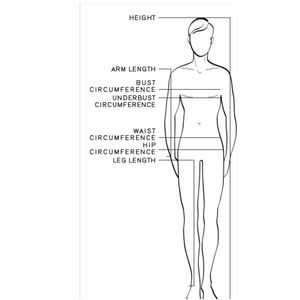 Other - How to Measure for Men's Clothing